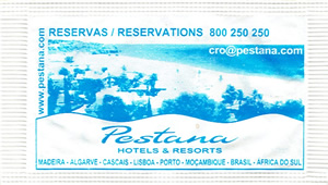 Pestana Hotels & Resorts ( Azul - 6,5g )