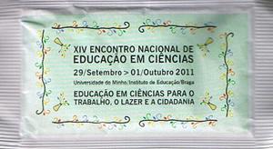 XIV Encontro Nacional de Educação em Ciências