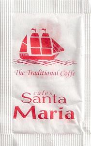 Cafés Santa Maria ( Vermelho )