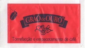Grão de Ouro cafés (vermelho / preto)