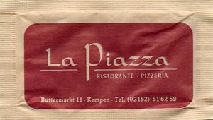 La Piazza - Ristorante . Pizzeria