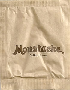 Moustache Coffee House (papel pardo)