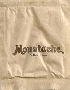 Moustache Coffee House (papel pardo)
