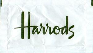 Harrods - Letras verdes