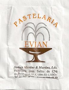 Pastelaria Evian ( sem gramagem )