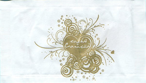 Cafés Coração (dourado)