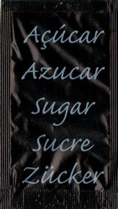 Castor - Açúcar em várias linguas (Preto)