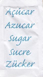 Castor - Açúcar em várias linguas (Azul)