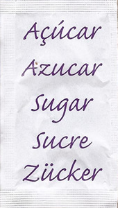 Castor - Açúcar em várias linguas (Roxo)