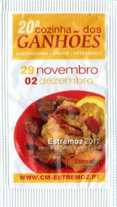 20ª Cozinha dos Ganhões - 2012