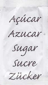 Castor - Açúcar em várias linguas (Castanho)