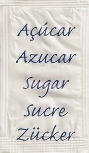 Castor - Açúcar em várias linguas (Azul - II)