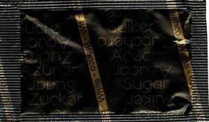 Açúcar em várias linguas (Preto/Dourado)