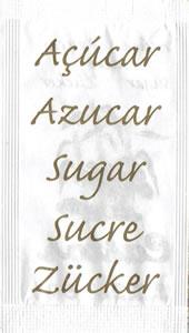 Castor - Açúcar em várias linguas (Castanho Claro)