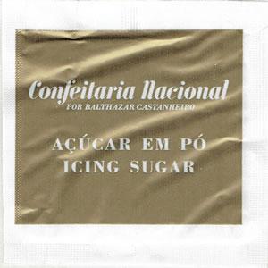 Confeitaria Nacional - Acúcar em Pó (dourado)