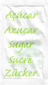 Castor - Açúcar em várias linguas (Verde Alface)