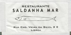 Restaurante Saldanha Mar ( verso deslocado )