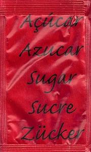 Castor - Açúcar em várias linguas (Vermelho/Castanho)