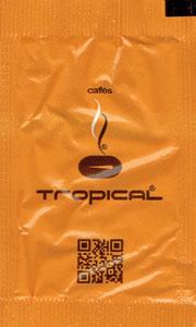 Cafés Tropical (com QR Code - Amarelo Torrado)