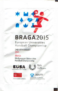 Braga 2015 - Europeu de Andebol Universitário