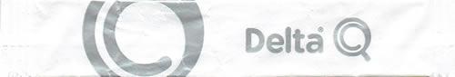 Stick Delta Q ( branco e letras prateadas ) - var. B