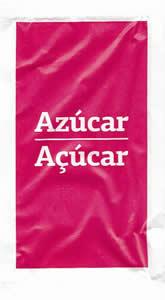 Azúcar / Açúcar (pacote Rosa)