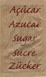 Castor - Açúcar em várias linguas (Demerara - Vermelho)