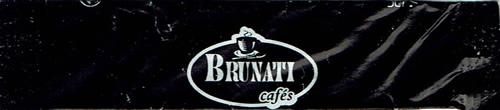 Brunati cafés - stick preto (4/6g)