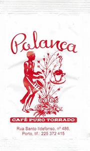 Polanca Cafés, café puro torrado (vermelho)