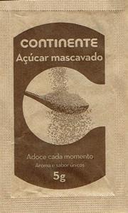 Continente - Açúcar mascavado ( 5g )