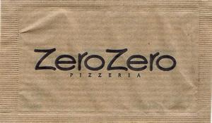 ZeroZero Pizzeria ( papel pardo )