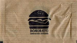 Honorato - Hambúrgueres Artesanais (Papel Pardo)