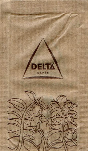 Delta Cafés - Planta com chávenas (pardo)