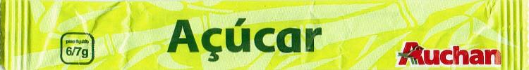 Stick Açúcar Auchan IV (com R)