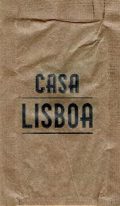 Casa Lisboa - Restaurante ( papel pardo )