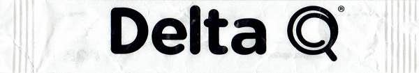 Stick Delta Q ( branco e letras pretas )