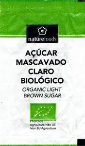 naturefoods - Açúcar Mascavado Claro Biológico III (5.5g)