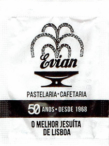 Pastelaria Evian - 50 Anos ( 60x45 mm )