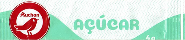 Auchan Açúcar - stick ( 4g )