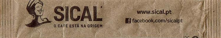 Sical - O café está na origem ( papel pardo - stick 4g )